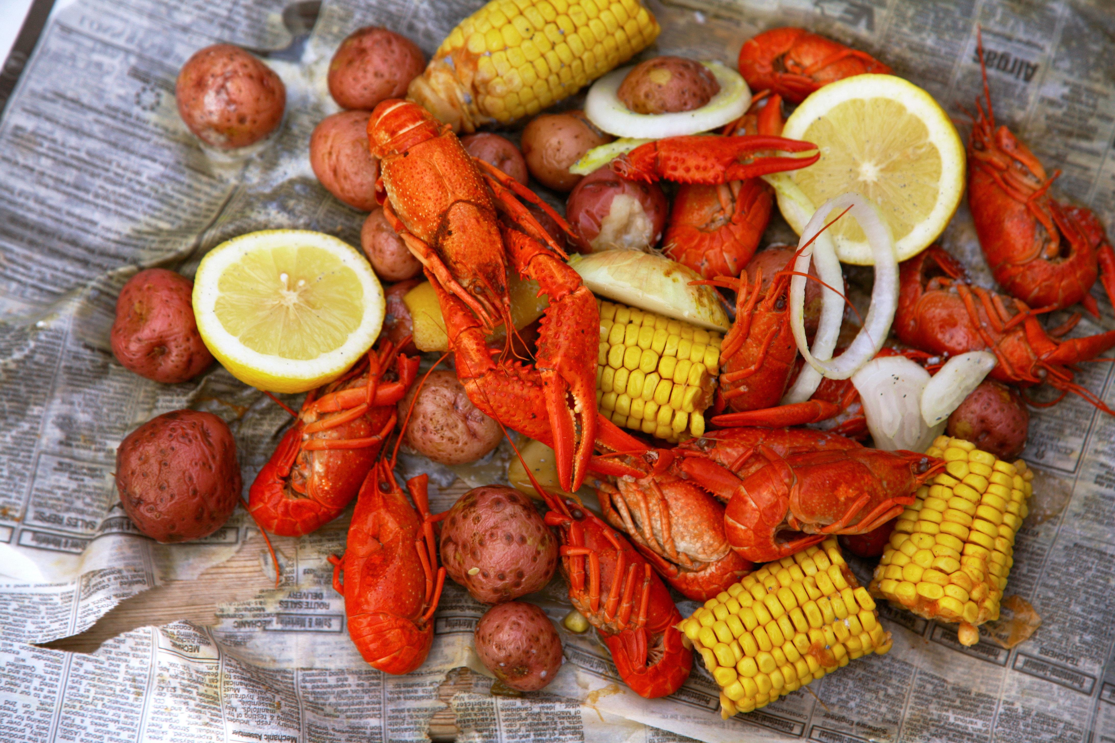 Business City Cultural Dining Drink Nightlife food seafood boil vegetable fish Seafood cuisine sliced fresh