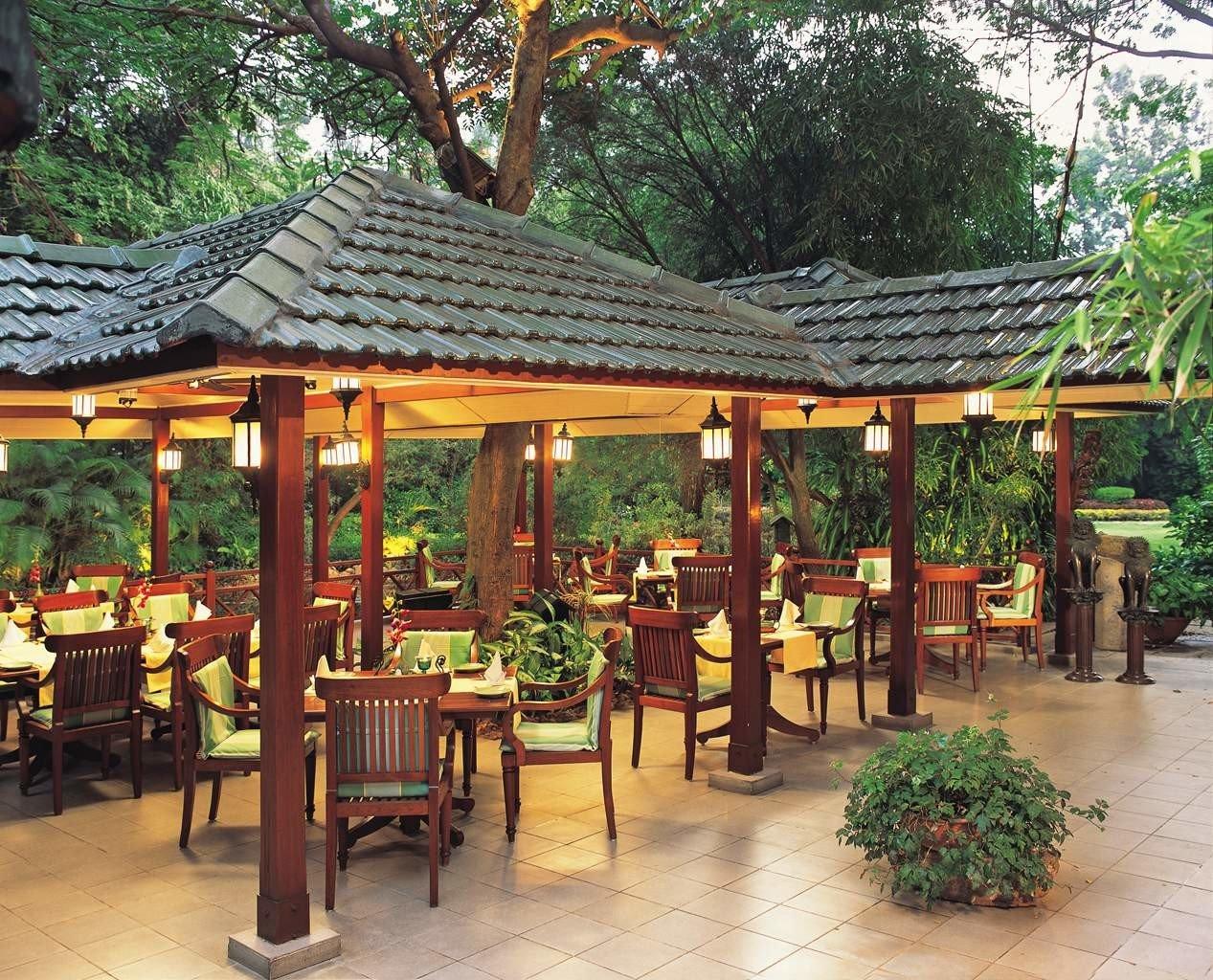 Business City Cultural Dining Elegant Luxury Shop tree ground chair building gazebo Resort outdoor structure eco hotel restaurant shinto shrine set
