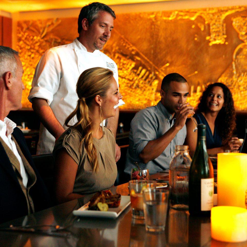 Business City Drink Eat Hip Lounge Luxury Modern Romance Romantic group dinner restaurant