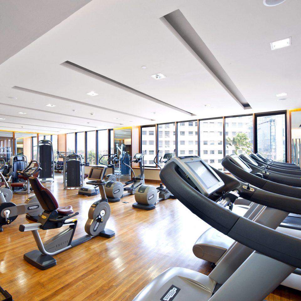 Business City Fitness Luxury structure sport venue condominium gym