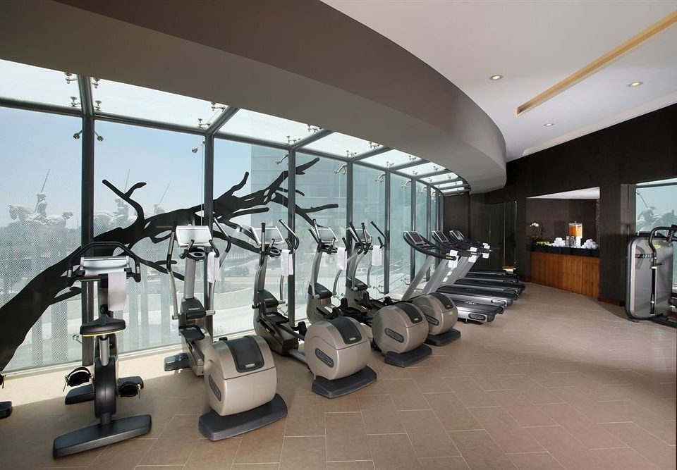 Business City Fitness Wellness structure property sport venue gym condominium