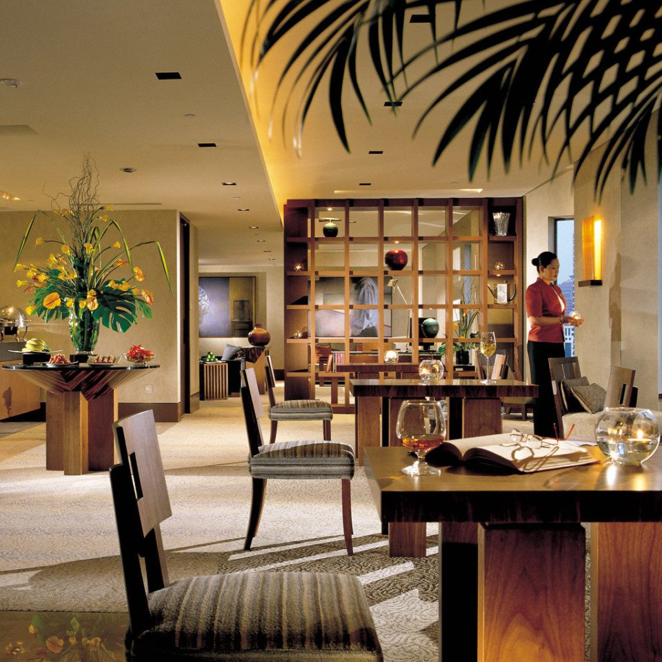 Business City Lounge Resort Lobby restaurant dining table