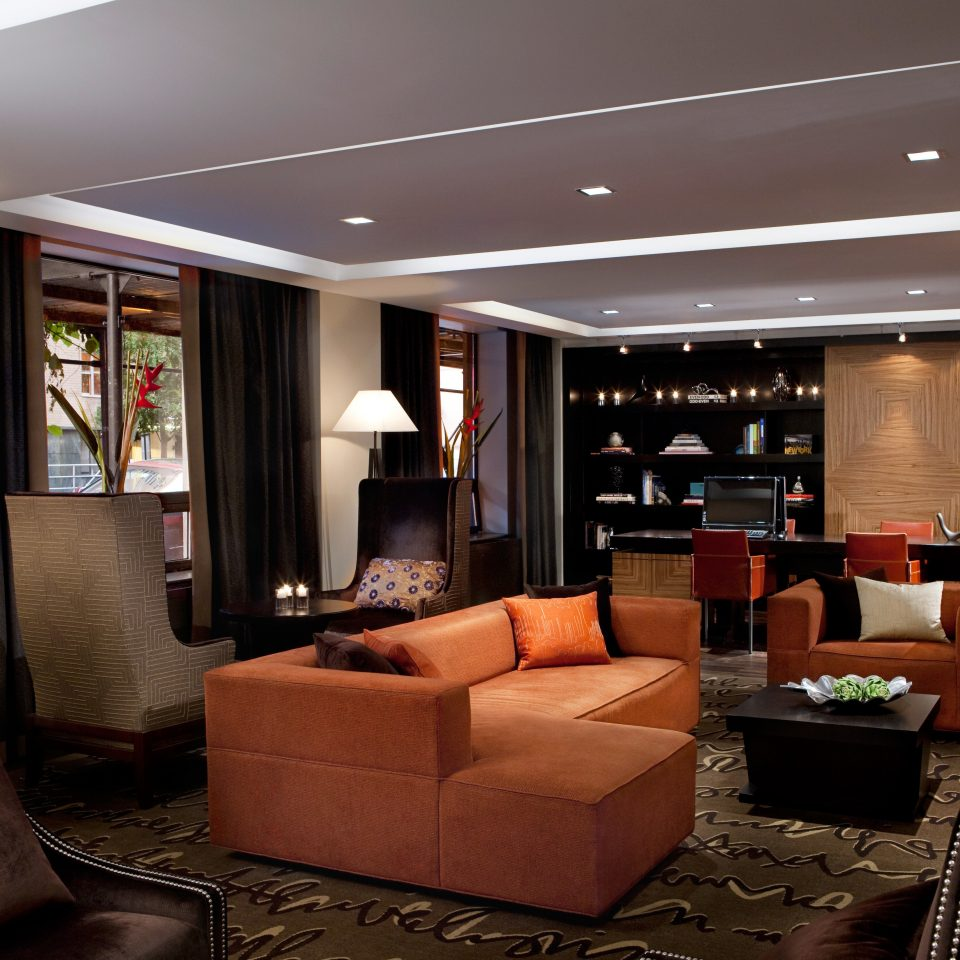 Business City Lobby Lounge Modern living room lighting home Suite condominium
