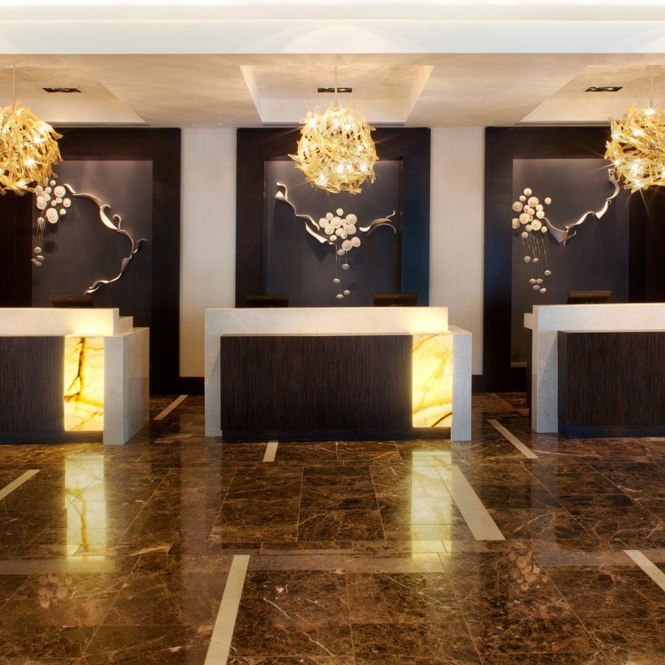 Business City Lobby Modern flooring lighting wood flooring ballroom stone