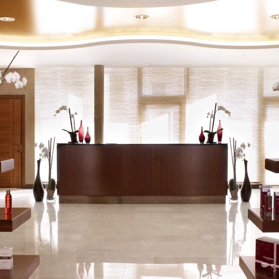 Business Classic Elegant Lobby shelf hardwood home living room cabinetry wood flooring