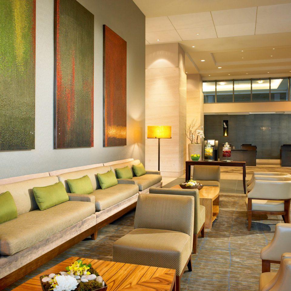 Business Classic Lobby Lounge Modern sofa property living room condominium Suite set