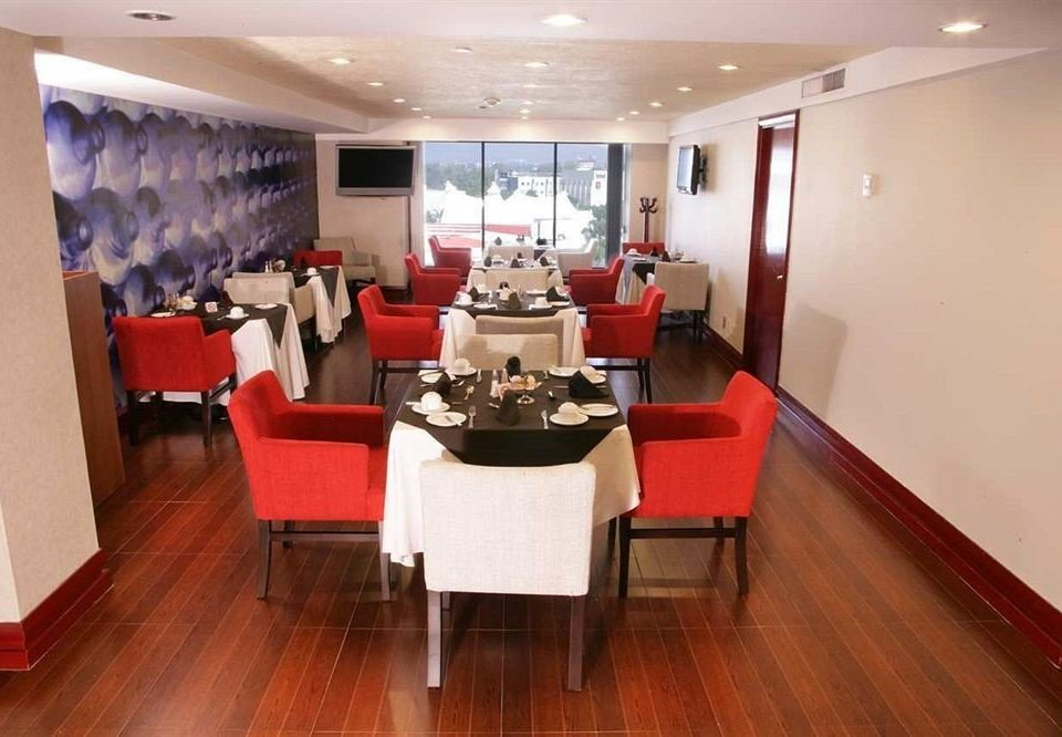 Business Dining Drink Eat Modern property red conference hall restaurant function hall Lobby recreation room yacht hard