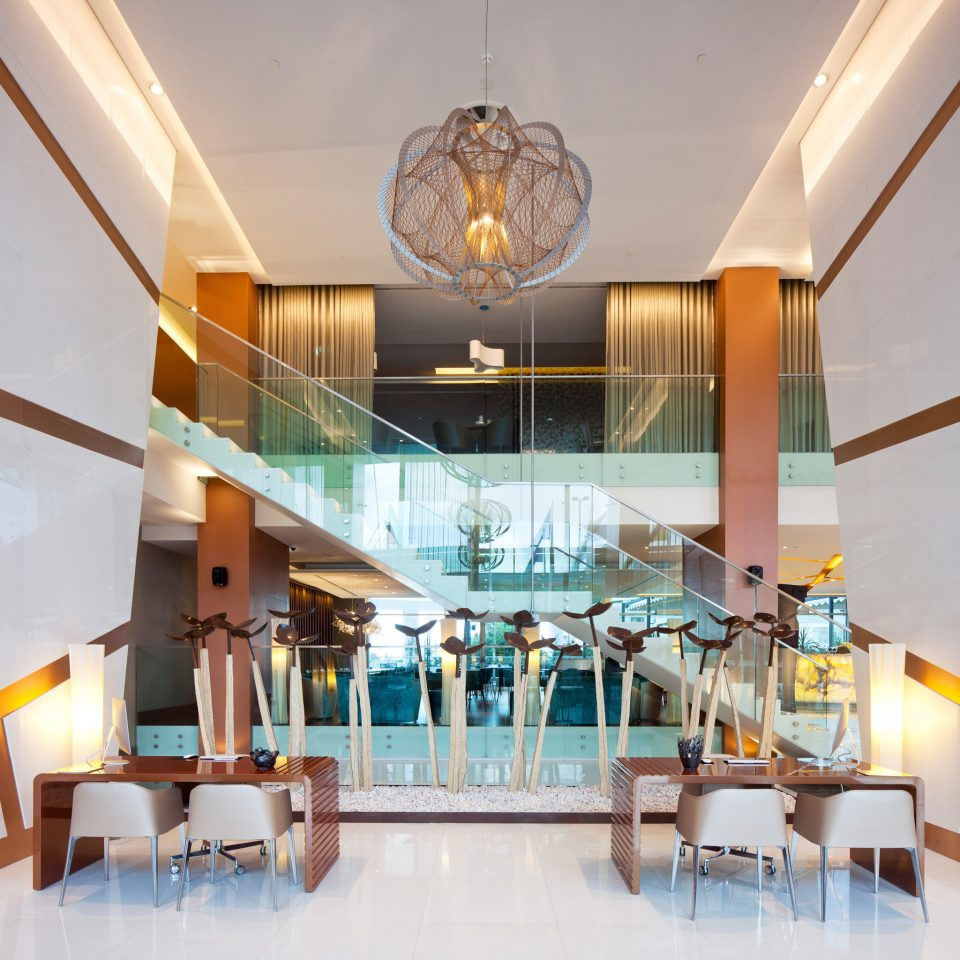 Business Lounge Luxury Modern property Lobby Resort restaurant lighting condominium home Dining