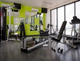Business Fitness Modern structure gym property sport venue condominium muscle physical fitness