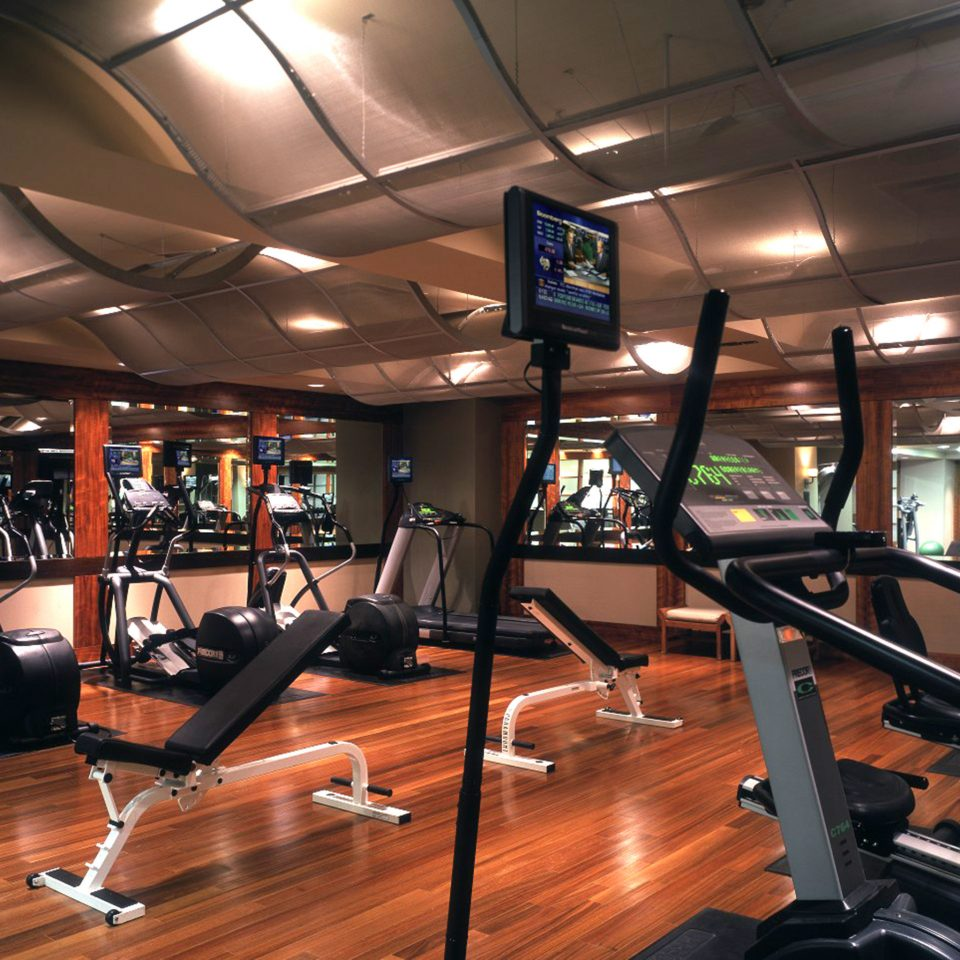 Business Fitness Modern ten pin bowling structure gym sport venue recreation room sports