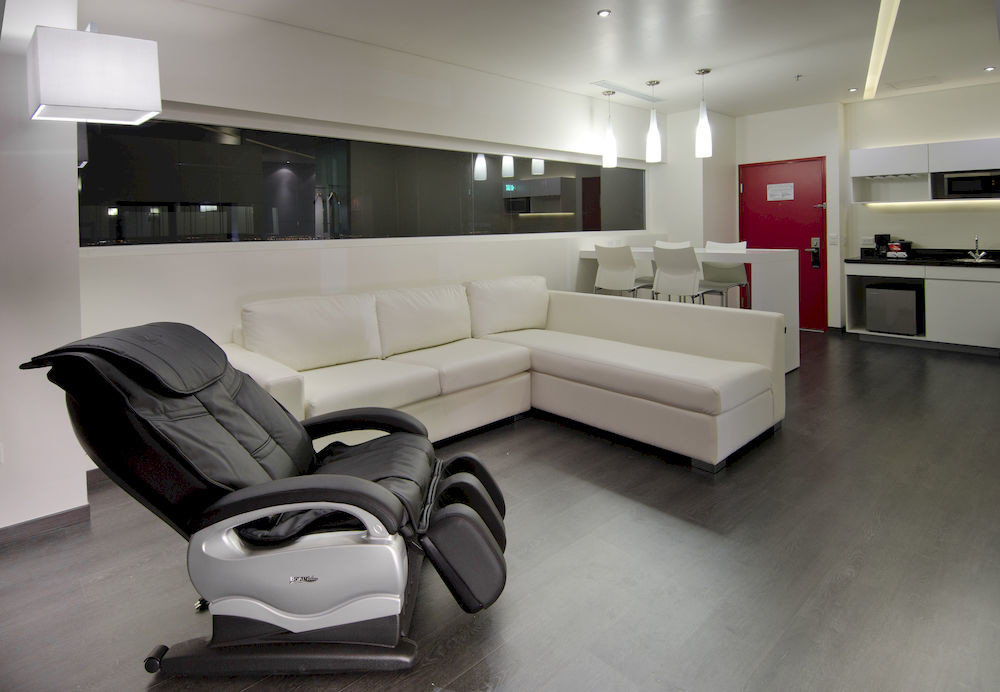 Business Kitchen Modern property living room white home flooring