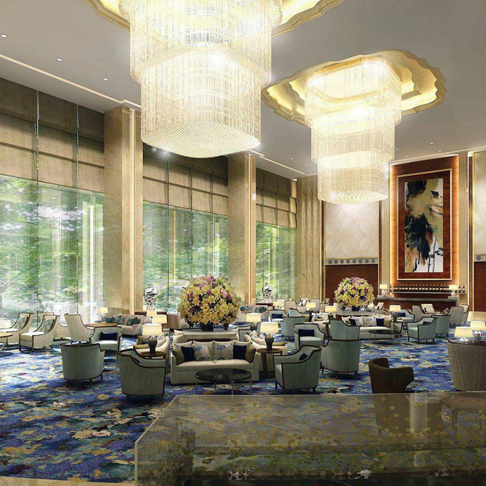 Business Lobby function hall palace ballroom