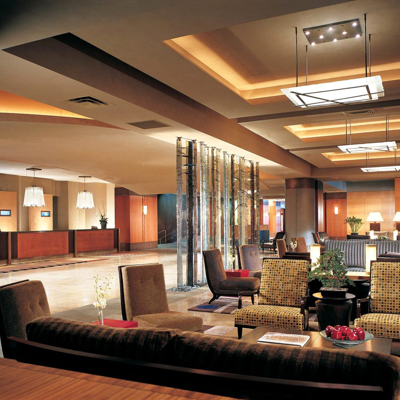 Business Lobby Lounge Modern property living room home lighting recreation room condominium