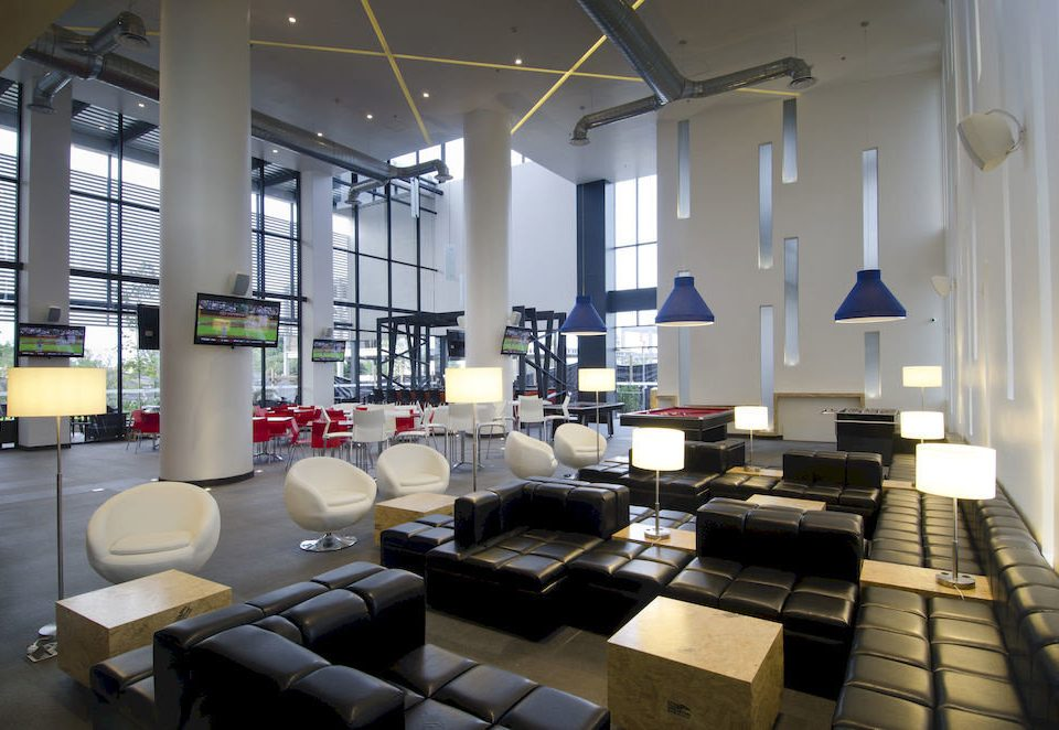 Business Lobby Lounge Modern property living room condominium loft