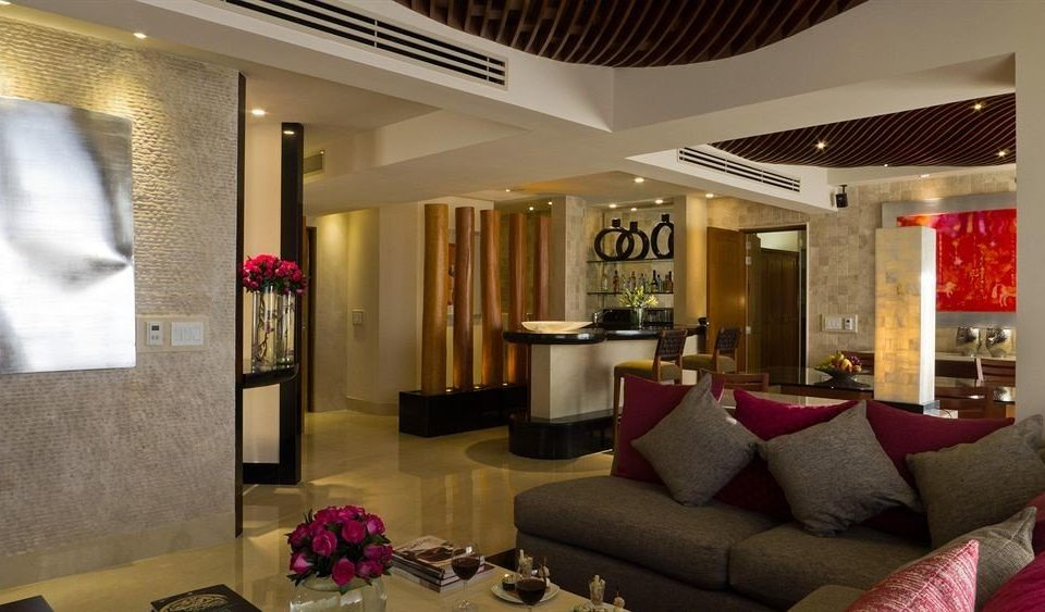 Business Modern sofa Lobby property living room Suite condominium home mansion colored