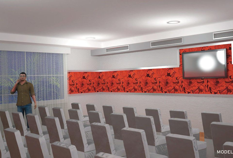 Business Lounge auditorium classroom