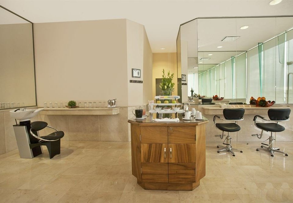 Business Modern property office home cabinetry flooring living room appliance