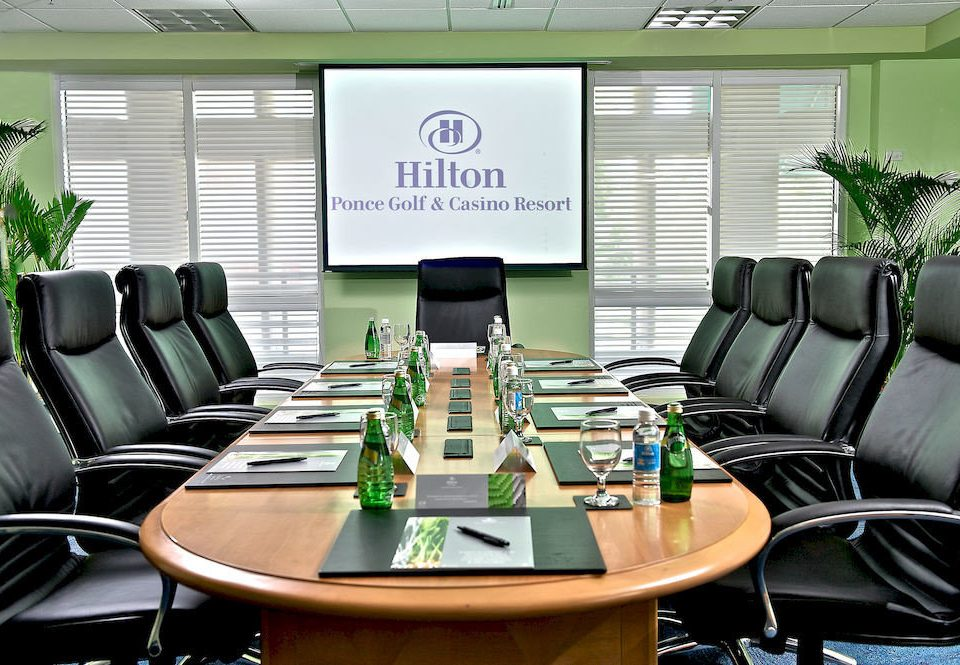 Business Resort green conference hall office conference room meeting leather dining table