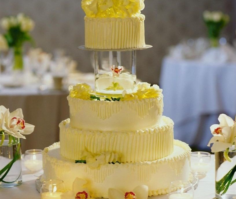 cake wedding wedding cake yellow flower buttercream cake decorating pasteles food icing dessert wedding ceremony supply