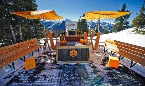 Food + Drink Mountains + Skiing tree outdoor Resort wooden Water park wood