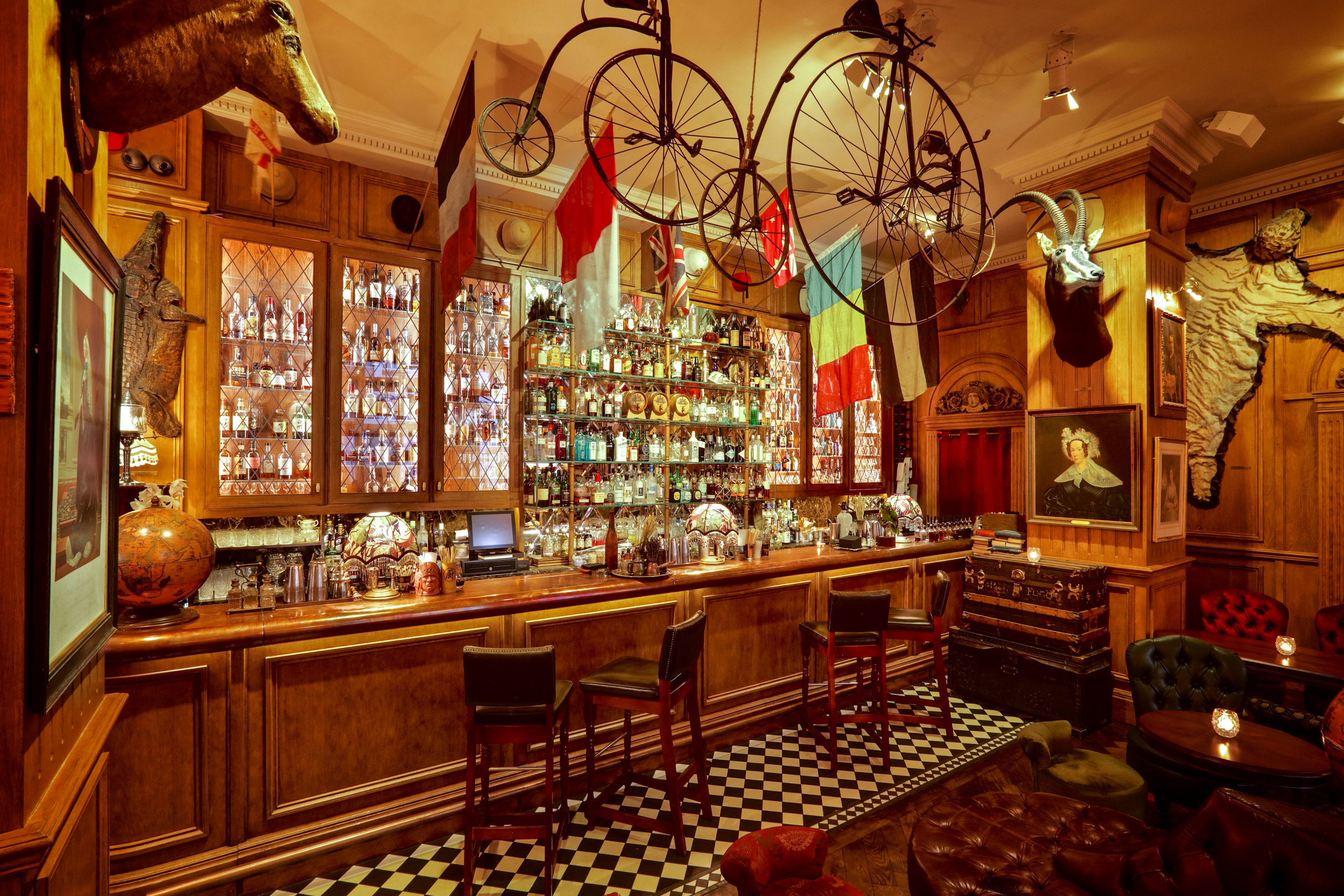 Food + Drink Trip Ideas indoor Bar interior design tavern pub restaurant wood café several