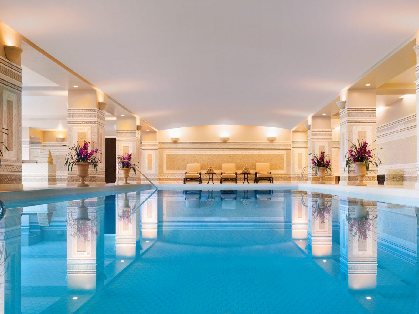 Trip Ideas indoor swimming pool leisure ceiling estate Resort function hall