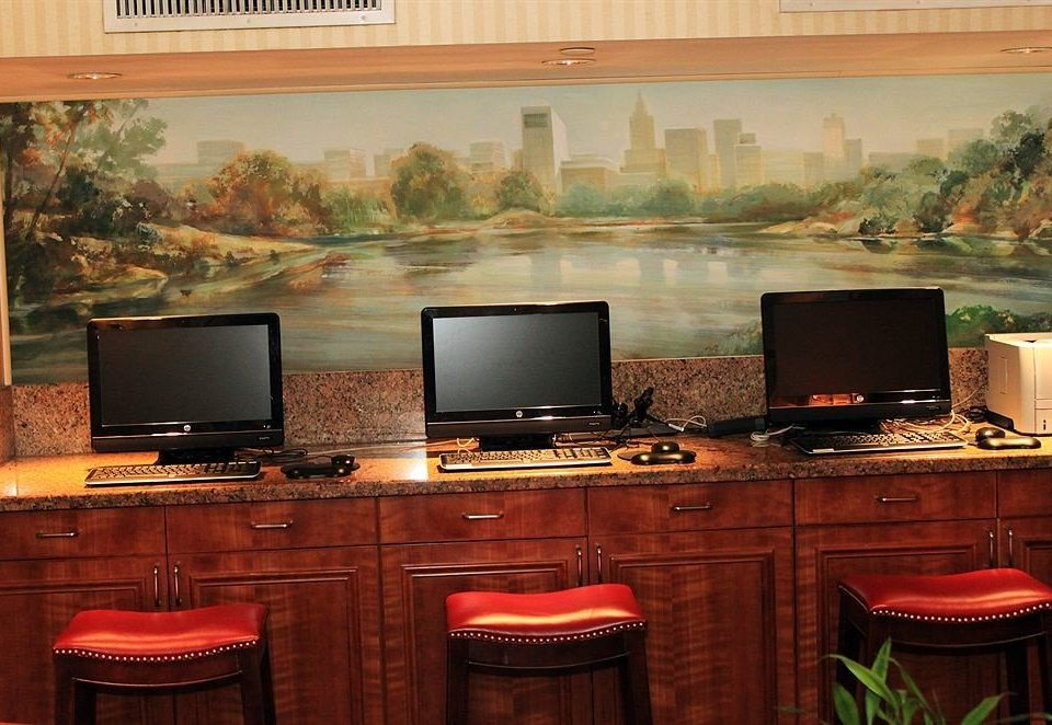 computer desk property home electronics living room recreation room cabinetry set