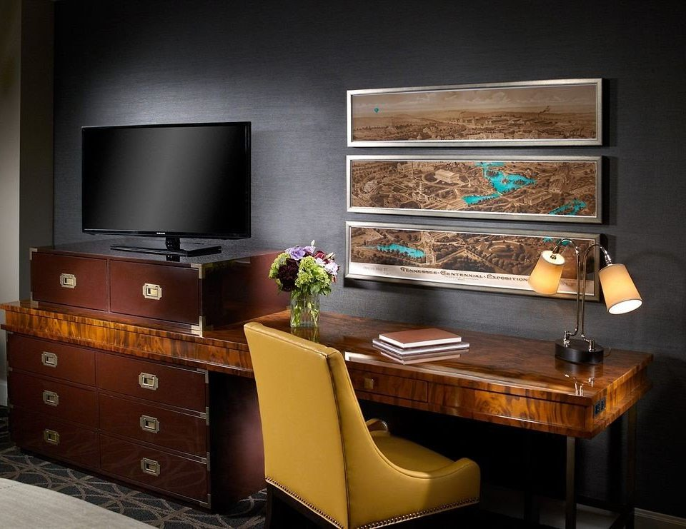 cabinetry living room home desk flat