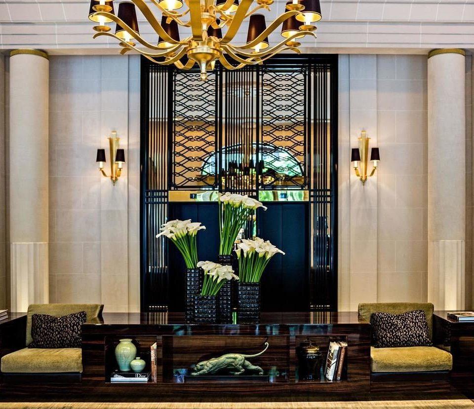 living room lighting home glass cabinetry