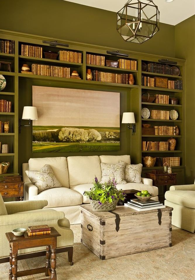 sofa living room shelf home hardwood cabinetry leather
