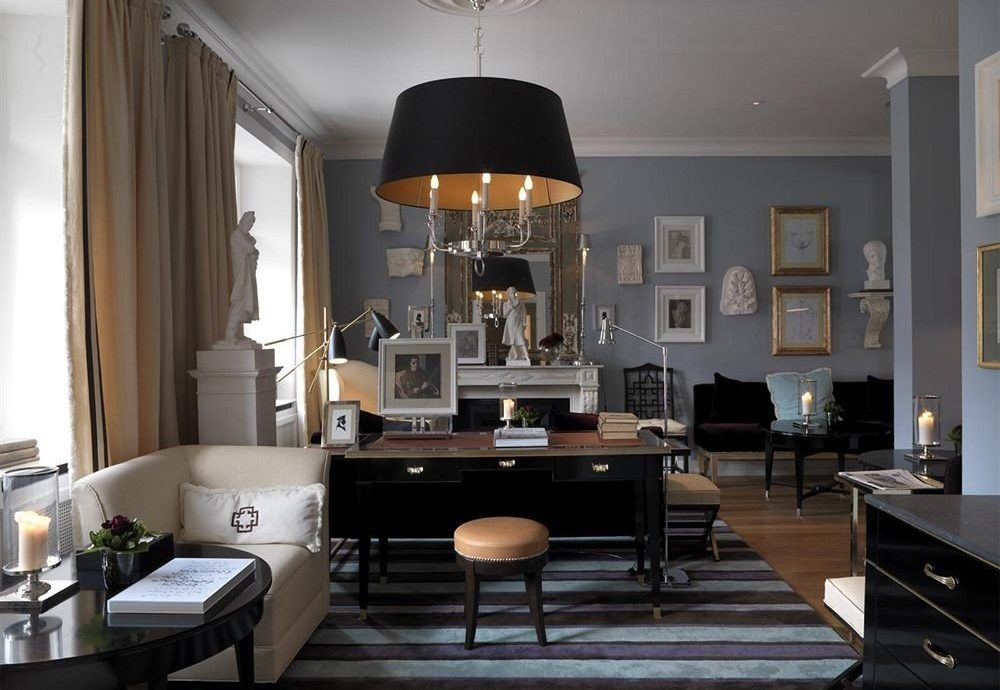 living room property home lighting cabinetry