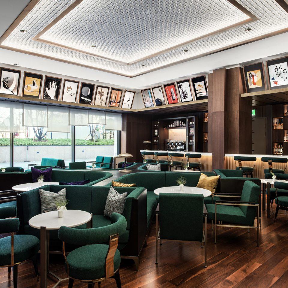 chair restaurant green café