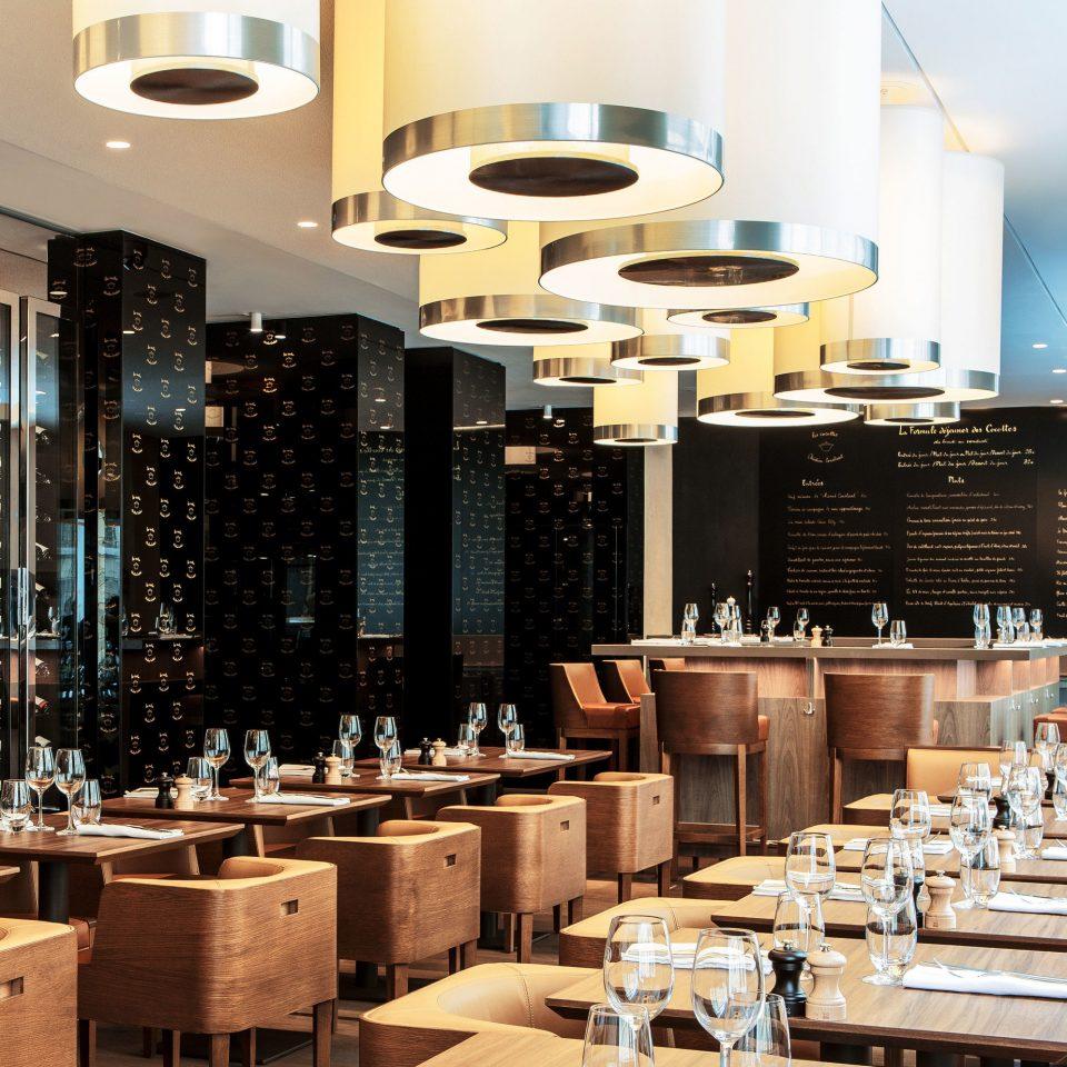 restaurant function hall café set