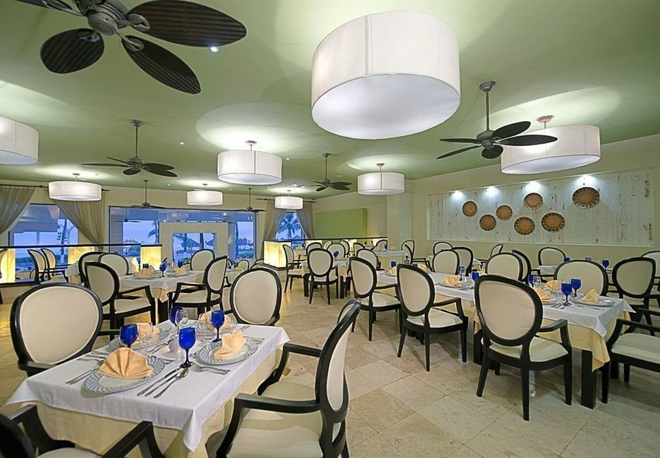 chair restaurant function hall lighting conference hall cafeteria dining table