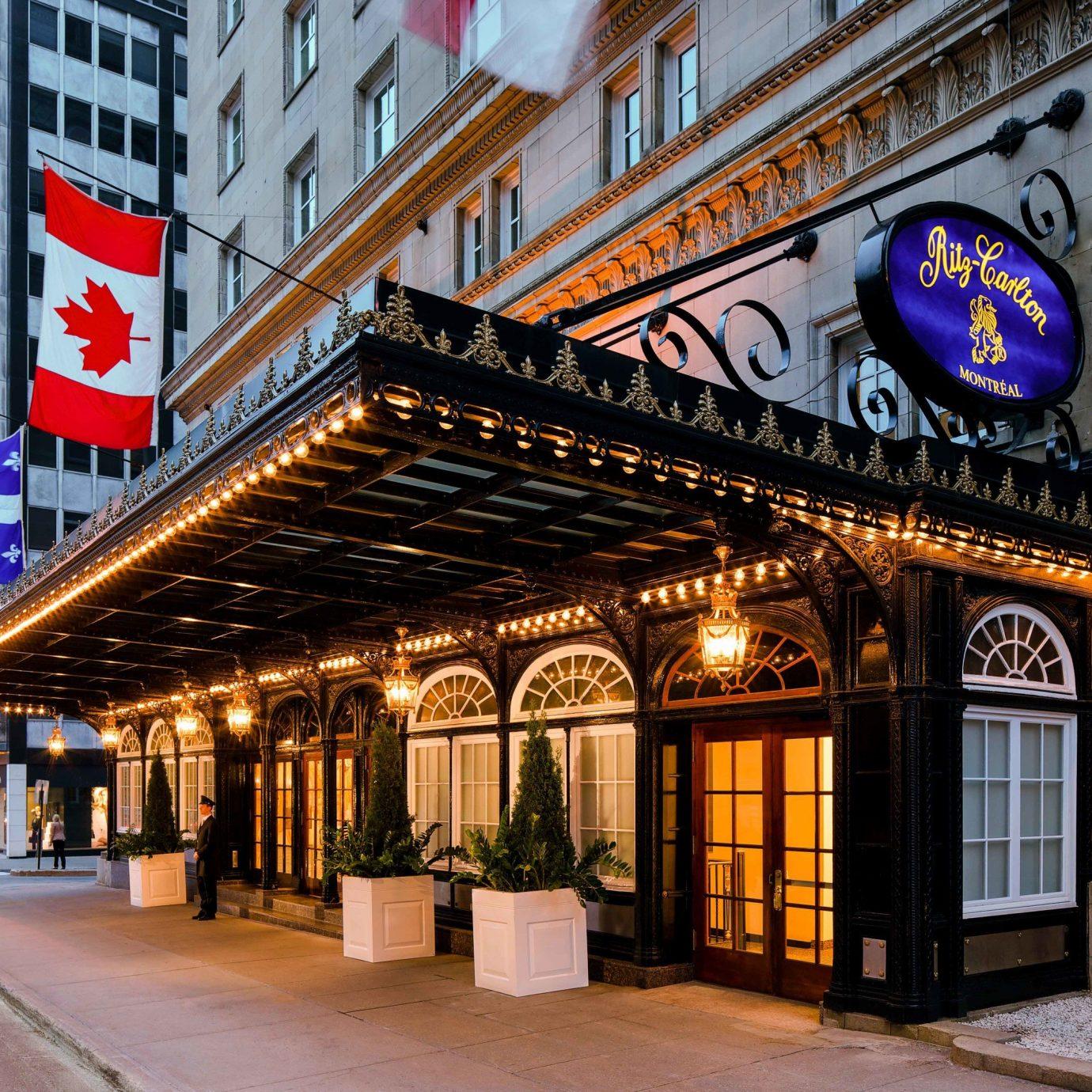 Canada Hotels Montreal Trip Ideas landmark Town City neighbourhood Downtown building mixed use street