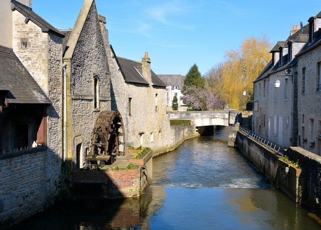 building sky water Canal Town house waterway River old moat Village water castle château narrow tours stone