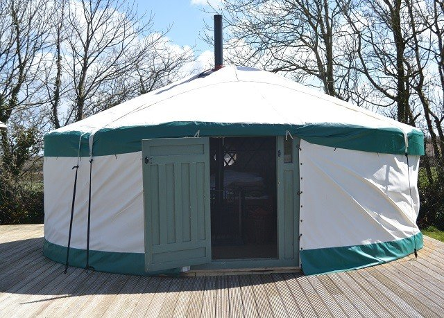 tree yurt tent green canopy dome gazebo outdoor structure