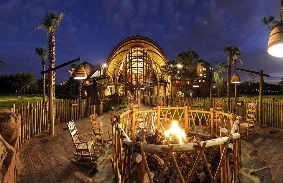 Family Firepit Resort amusement park amusement ride park night outdoor recreation lighting evening recreation Carousel