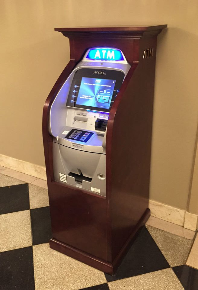 machine cash games kiosk