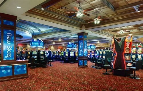 Casino building recreation room store