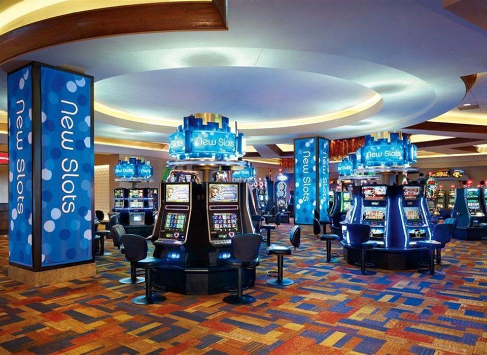 Casino Classic building blue library