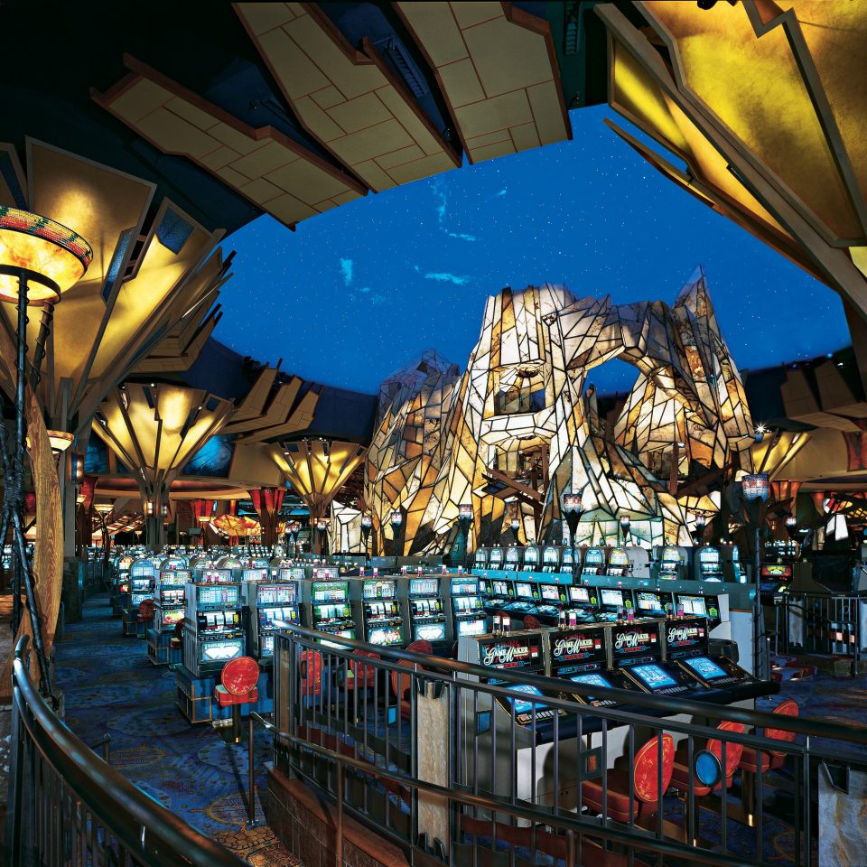 Casino Entertainment Nightlife Play night amusement park evening