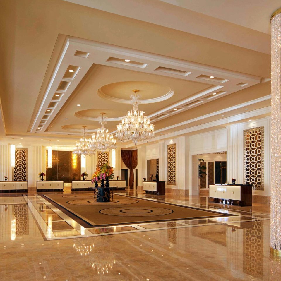 Casino Lobby Modern Resort property building shopping mall lighting function hall ballroom plaza hall convention center palace