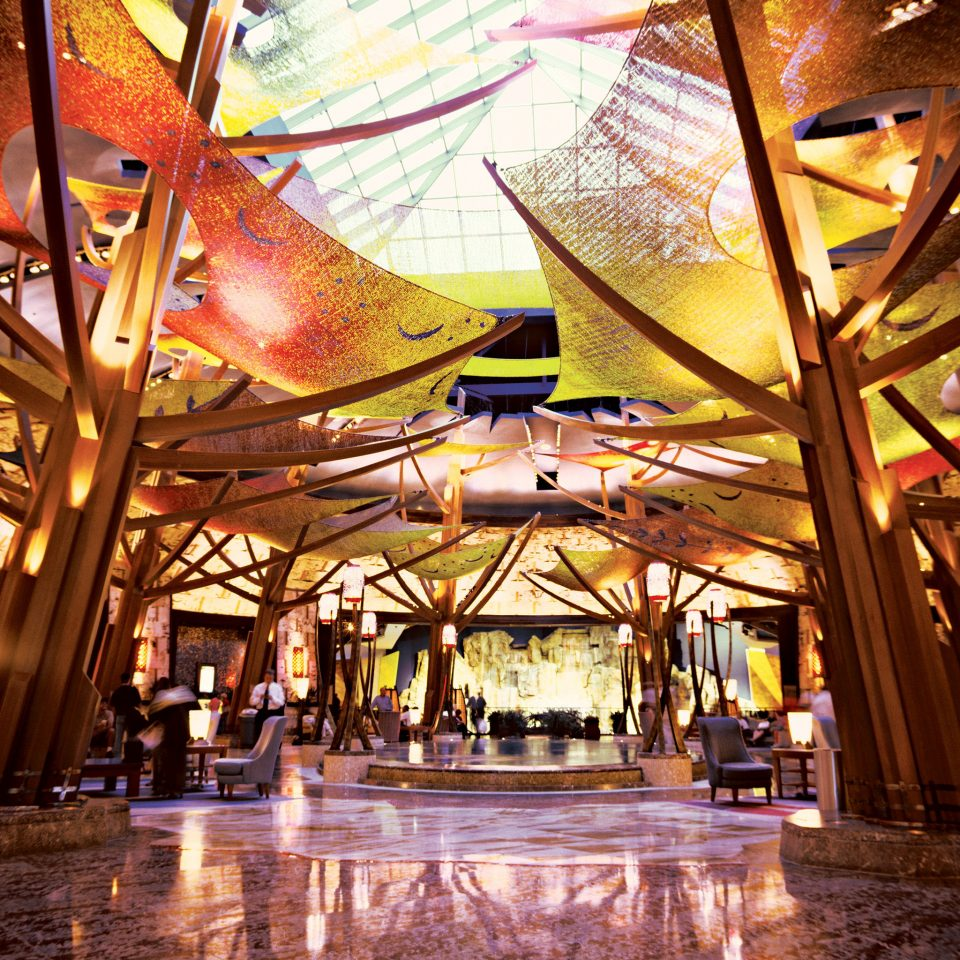Casino Lobby amusement park Resort