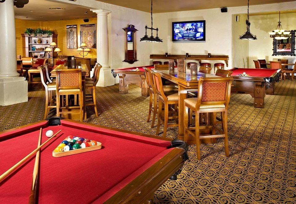 recreation room billiard room Resort restaurant Casino poolroom