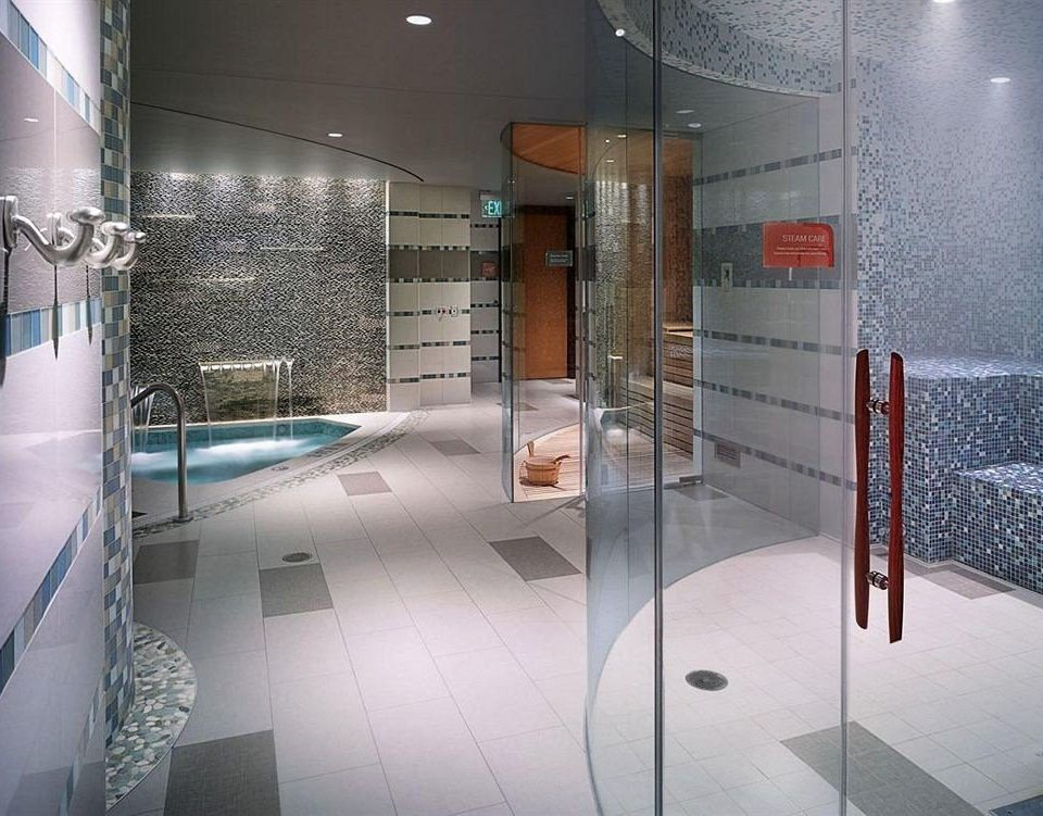 Casino Spa building glass bathroom plumbing fixture flooring tiled