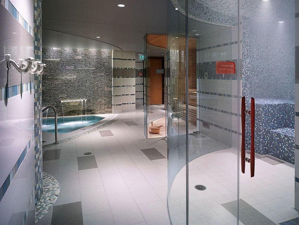 Casino Spa building glass bathroom plumbing fixture flooring tiled