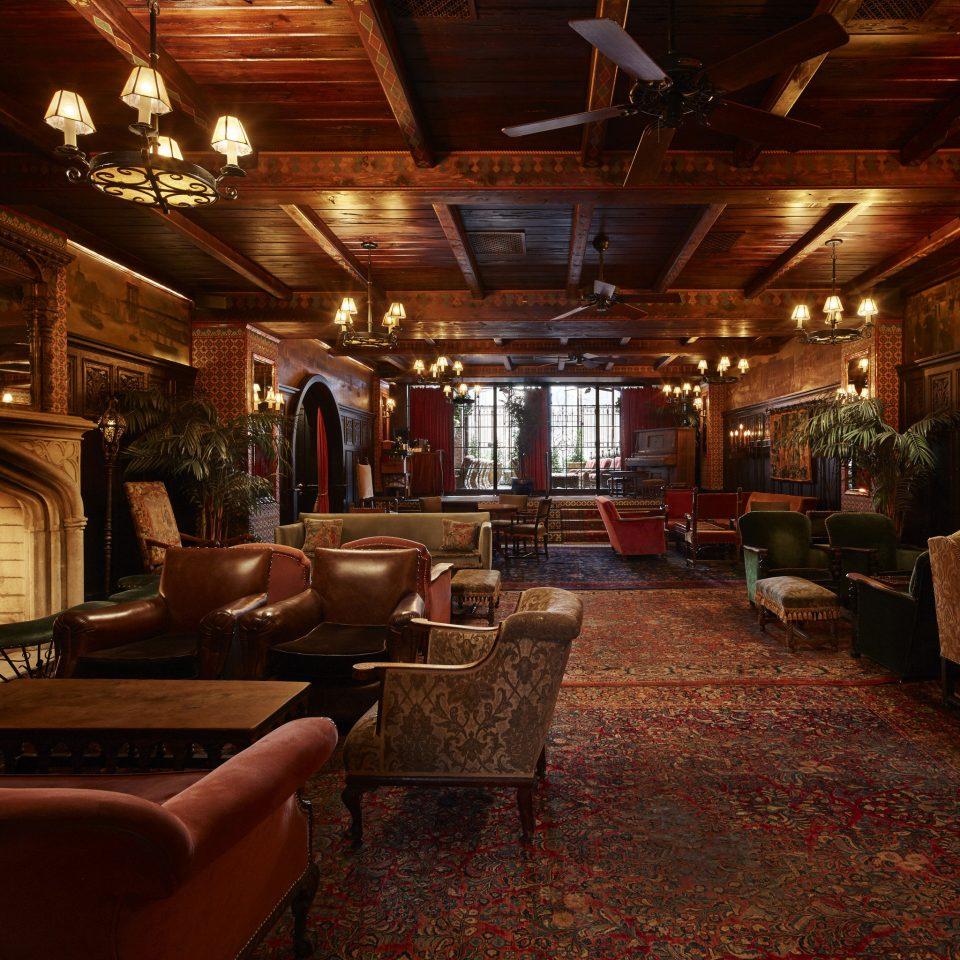 Celebs Hotels Trip Ideas Lobby lighting living room home tavern