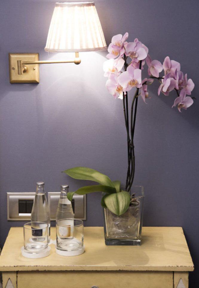 flower floristry lighting centrepiece lamp