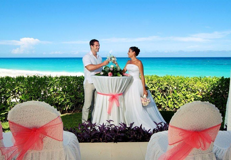 sky water wedding ceremony event shore